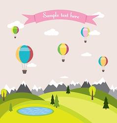 a balloon vector image