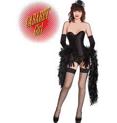 cabaret girl vector image vector image