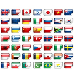 flags add vector image vector image