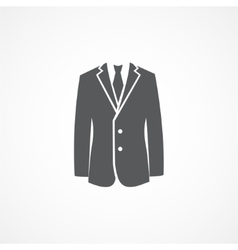 Suit icon vector image vector image