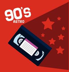 90s retro cartoons vector