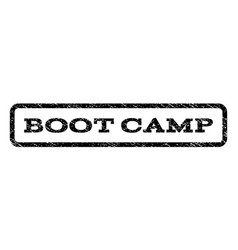 Boot camp watermark stamp vector
