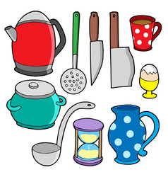 domestics collection 2 vector image