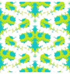 Hand painted pattern with bold brush strokes vector image