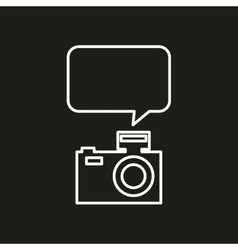 mobile social media icon vector image