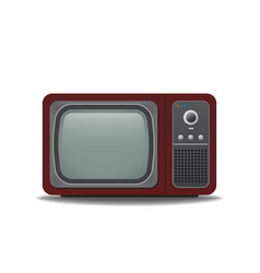 Old style tv vector