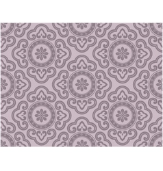 seamless ornament background vector image