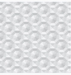3d polygon geometry seamless pattern vector image