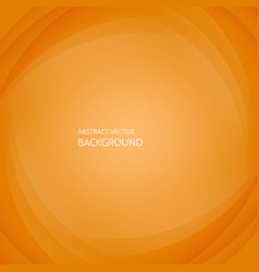 abstract elegant orange background vector image