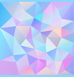 Abstract irregular polygonal square background vector