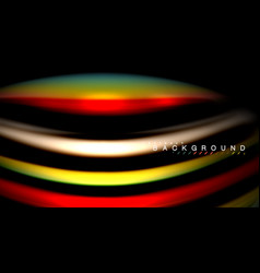 blur color wave lines abstract background vector image