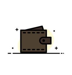 Business finance interface user wallet business vector
