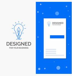 business logo for bulb idea electricity energy vector image