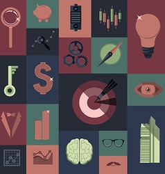 business set preview vector image