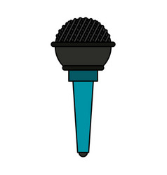Microphone icon image vector