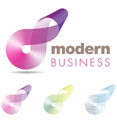 Modern Business Icon vector