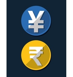 Money symbol currency vector