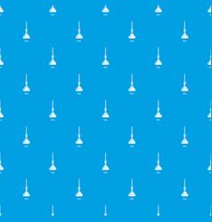 mop pattern seamless blue vector image