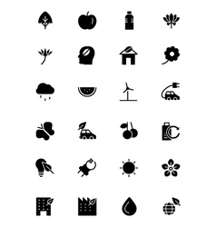 Nature and Ecology Icons 1 vector