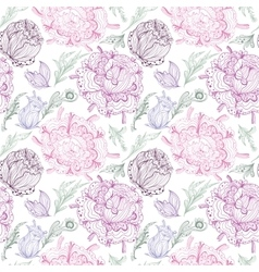 Romantic Provence Pattern vector image