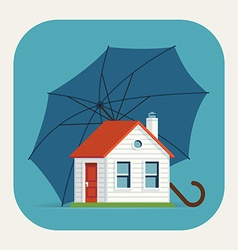 Safe House Icon vector image