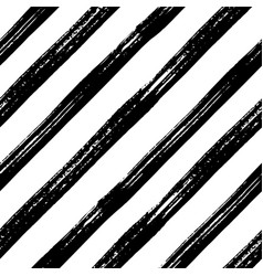 seamless brush stroke diagonal pattern vector image