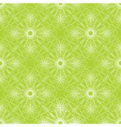 spiral green vector image vector image