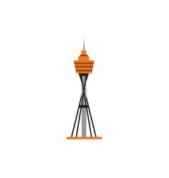 tower famous landmark australia icon on white vector image