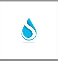 water drops vector image