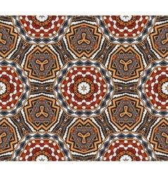 Abstract Tribal indian motif seamless pattern vector image