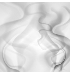 Abstract background of gray smoke vector image