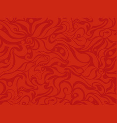 Abstract seamless red background vector