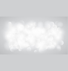 abstract white blurred background vector image