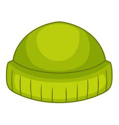 Beanie icon cartoon style vector