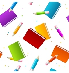 Book School Background vector image