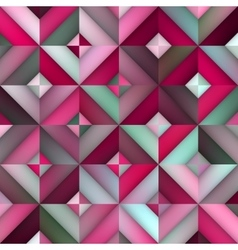 Seamless Pink Shades Gradient Rhombus vector