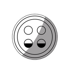 Sign lights low symbol vector