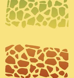 turtle texture vector image