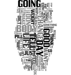 Yes you can lose weight text word cloud concept vector