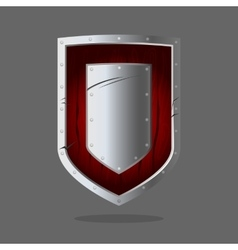 Personal armor to intercept attacks by stopping vector image vector image