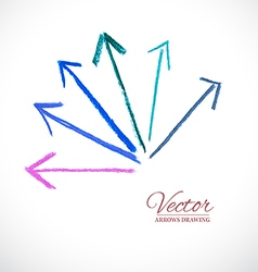 Arrows Pastel vector image