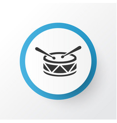 drum icon symbol premium quality isolated barrel vector image