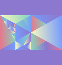dynamic colorful polygonal geometric gradient vector image