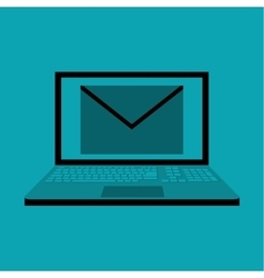 Email design envelope icon Isolated vector image vector image