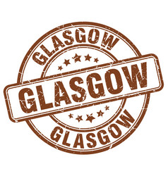 Glasgow stamp vector