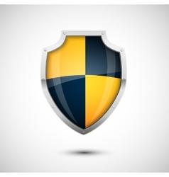 Glass Shield vector image