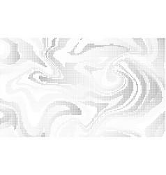 halftone effect liquid background vector image