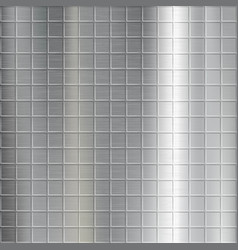 texture of brushed metal with a pattern vector image