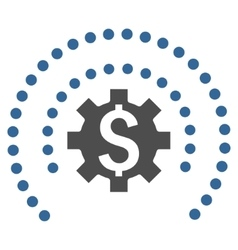 Financial Industry Protection Flat Icon vector image