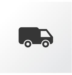 van icon symbol premium quality isolated truck vector image vector image